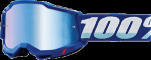 Akiniai 100% Accuri 2, mėlyni, su mėlynu veidrodiniu lęšiu