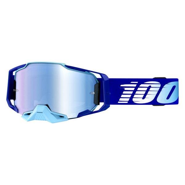 Akiniai 100% Armega Royal, su mėlynu veidrodiniu lęšiu