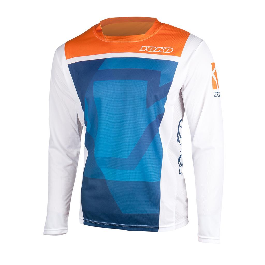 MARŠKINĖLIAI MX jersey YOKO KISA blue / orange