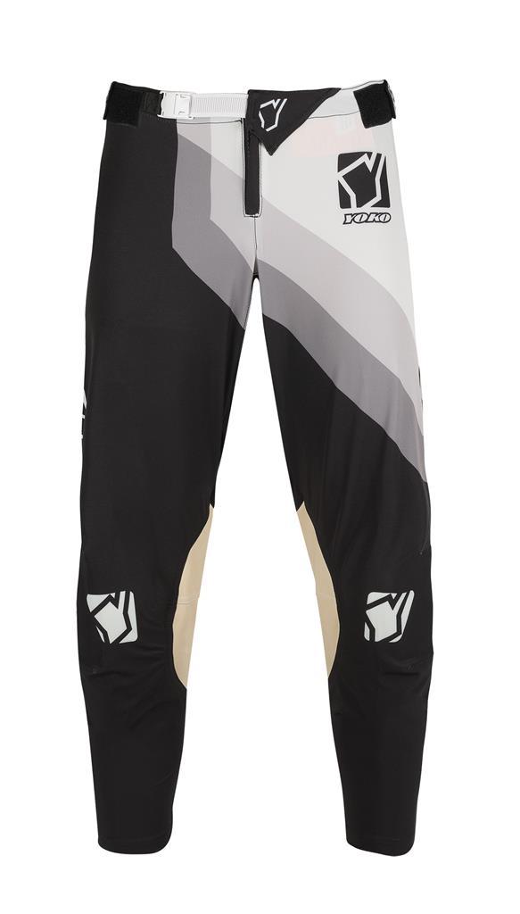 KELNĖS (vaikiškos) MX pants YOKO VIILEE black / white