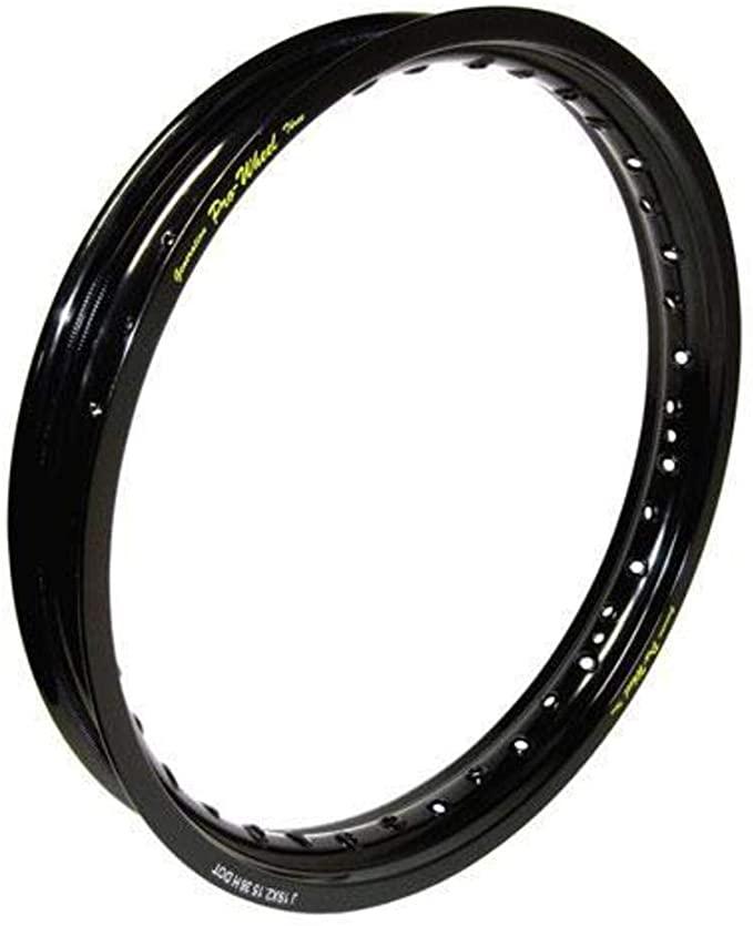 2.15x19 36 stipinų ratlankis (juodas) ZAP Technix